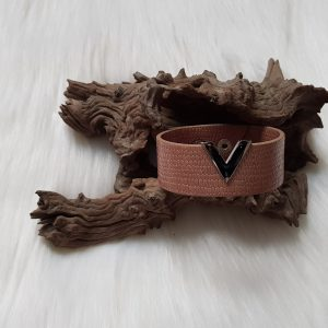 Nude Leather Bracelet