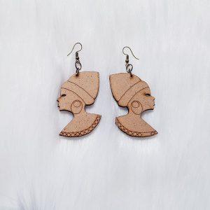Lady Wood Earrings