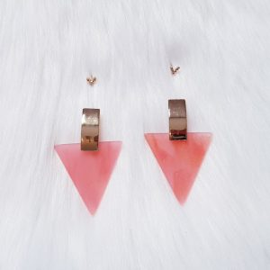 Acrylic Drops With Studs