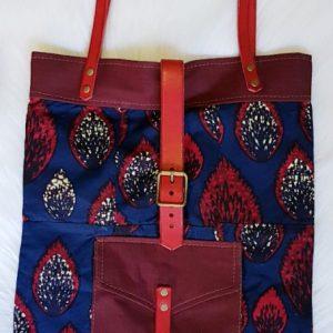 Denim & Leather Bag